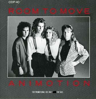 Animotion Room To Move Cd Single Promo Reference Discography