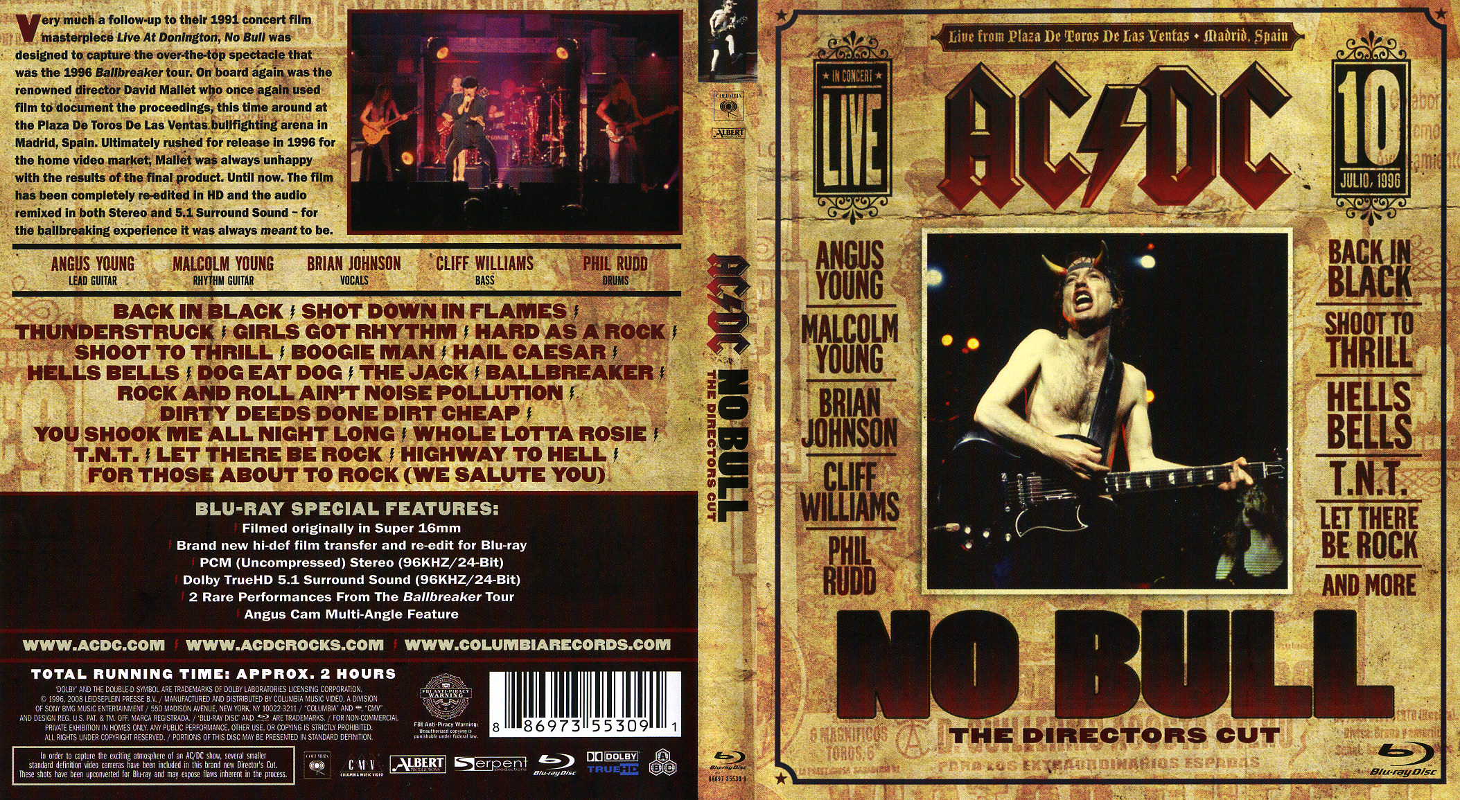 ac dc no bull director s cut