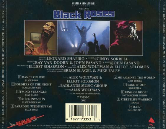 black roses soundtrack  1988