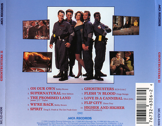 Ghostbusters Ii Soundtrack 1989 Cd Sniper Reference