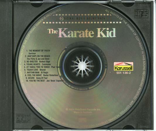 Bop Bop On The Beach Karate Kid