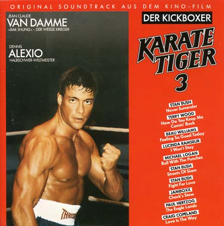 Karate Tiger 3 Soundtrack (1989) - CD Sniper Reference ...