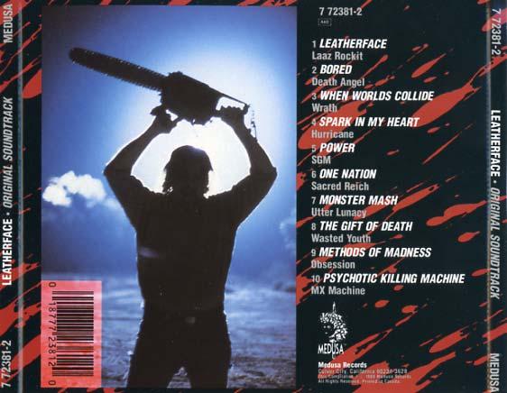 Leatherface Soundtrack (1989) - CD Sniper Reference ...