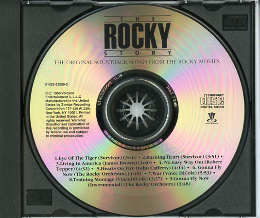 the rocky story  1990