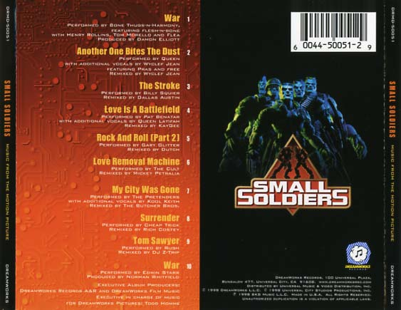 Small Soldiers Soundtrack (1998) - CD Sniper Reference ...
