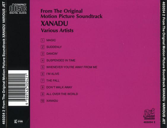 Xanadu Soundtrack (198...